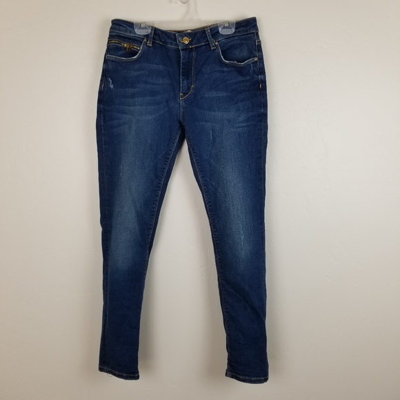 Zara Denim - ZARA - leara jeans zipper accents